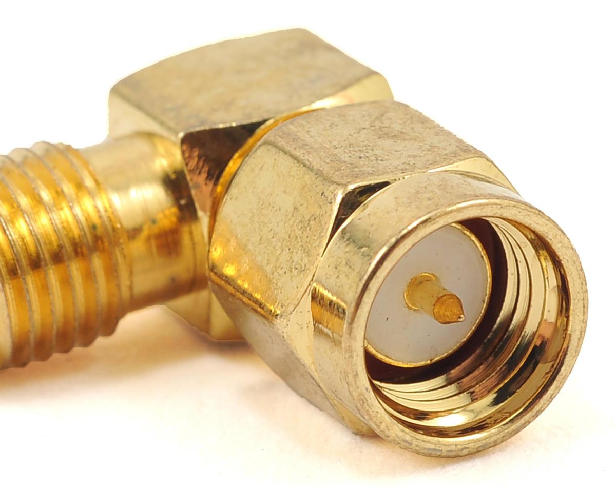 HeliStar RP-SMA Jack to SMA Plug 90° Adapter