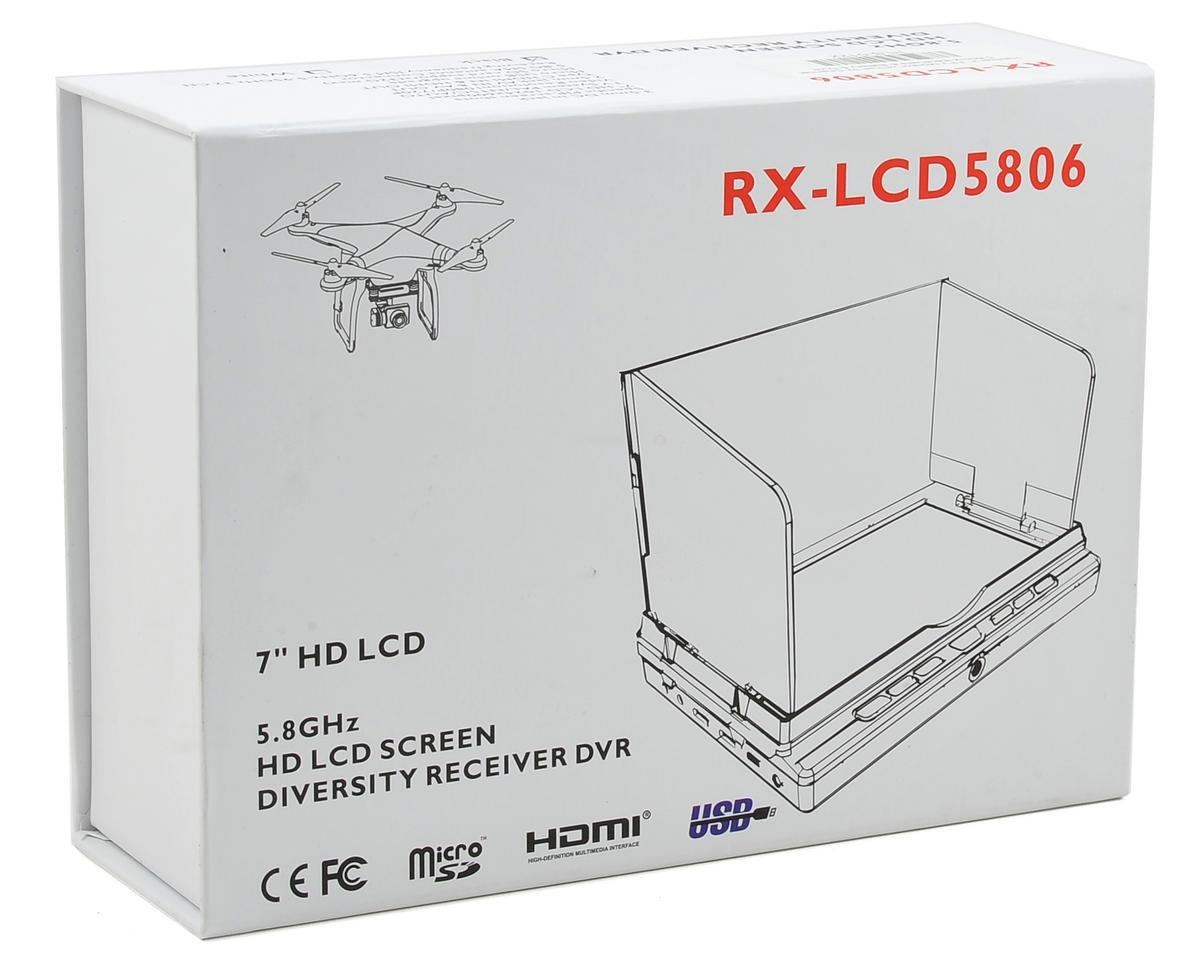 HeliStar RX-LCD5806 7 HD FPV Monitor