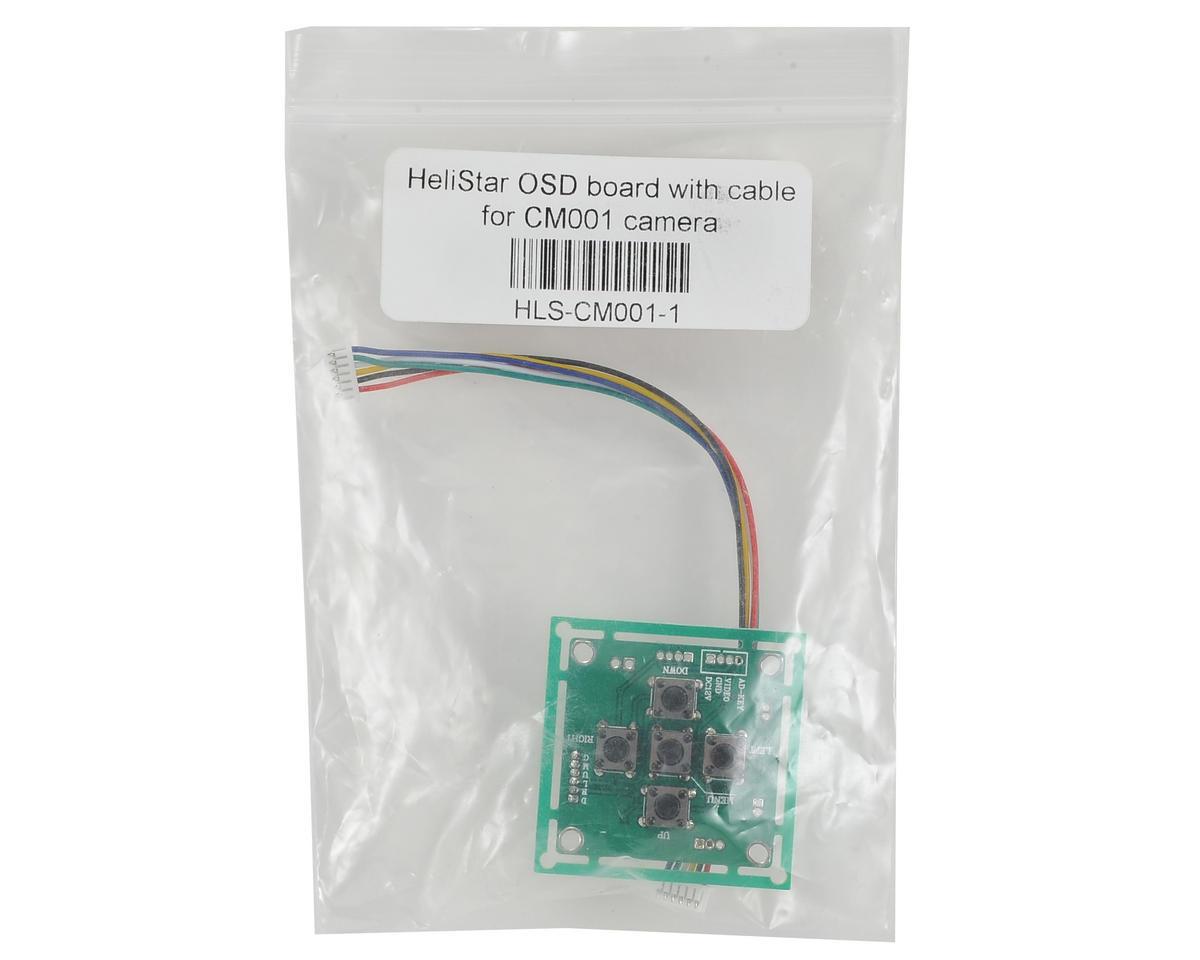 HeliStar CM001 Camera OSD Board w/Cable