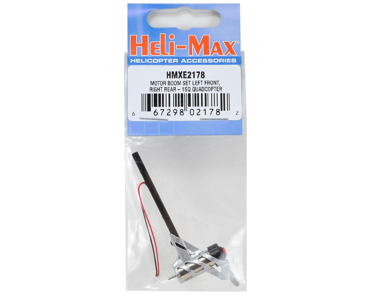 Heli-Max Motor & Boom (Left Front/Right Rear)