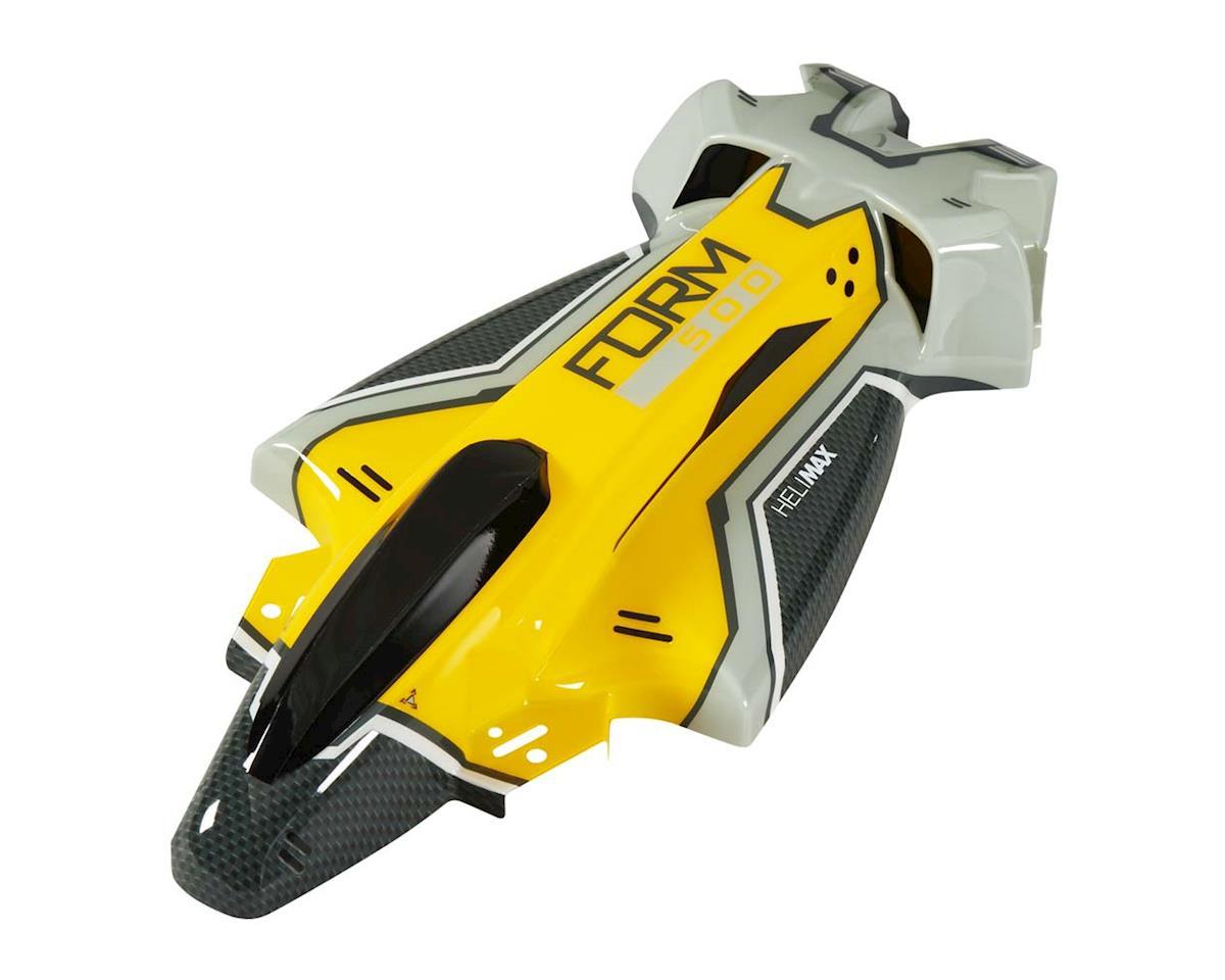 Heli-Max Body Set w/Decals Yellow Form 500