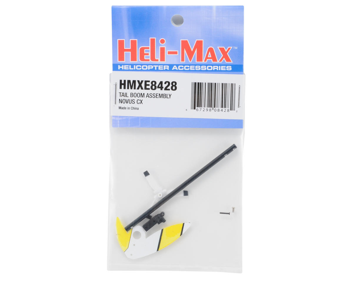 Heli-Max NOVUS Tail Boom Assembly (CX)