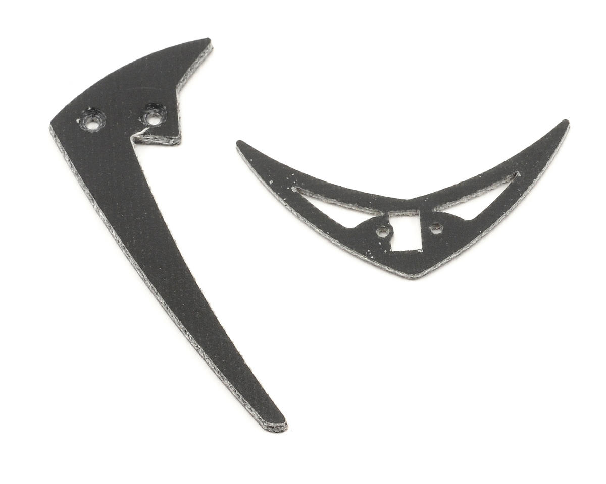 Heli-Max Tail Fin Set: CP/FP 125 (2)