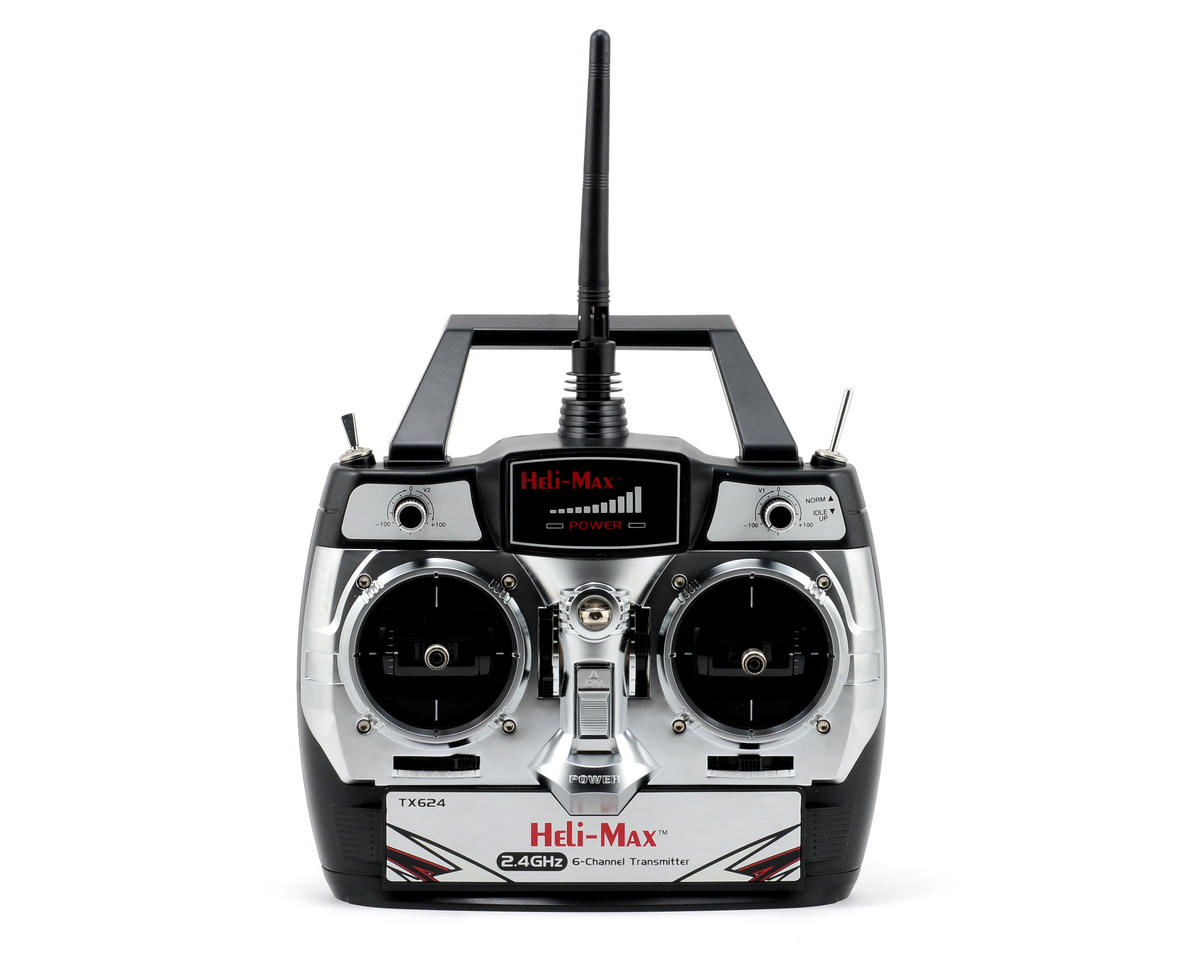 Heli-Max NOVUS 6 Channel 2.4Ghz Transmitter