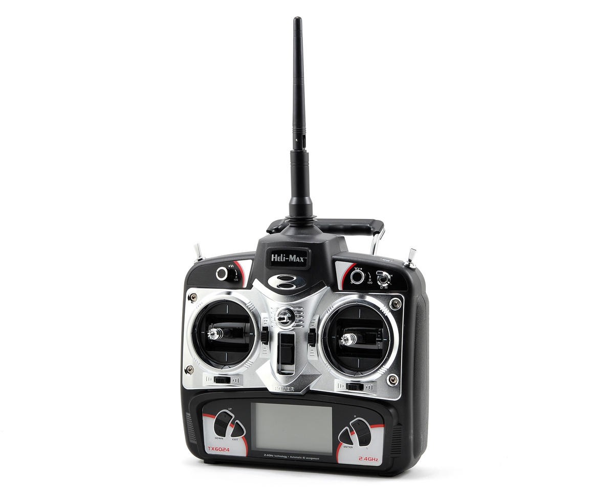 Heli-Max 6-Channel TX6024 2.4GHz Transmitter (125 CP)
