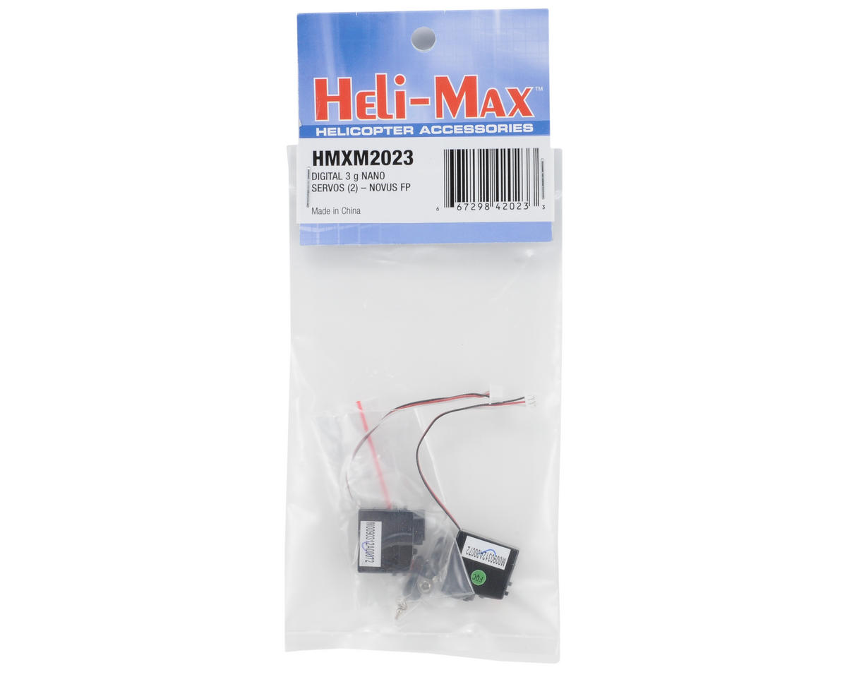 Heli-Max NOVUS Digital Servos (2) (FP)