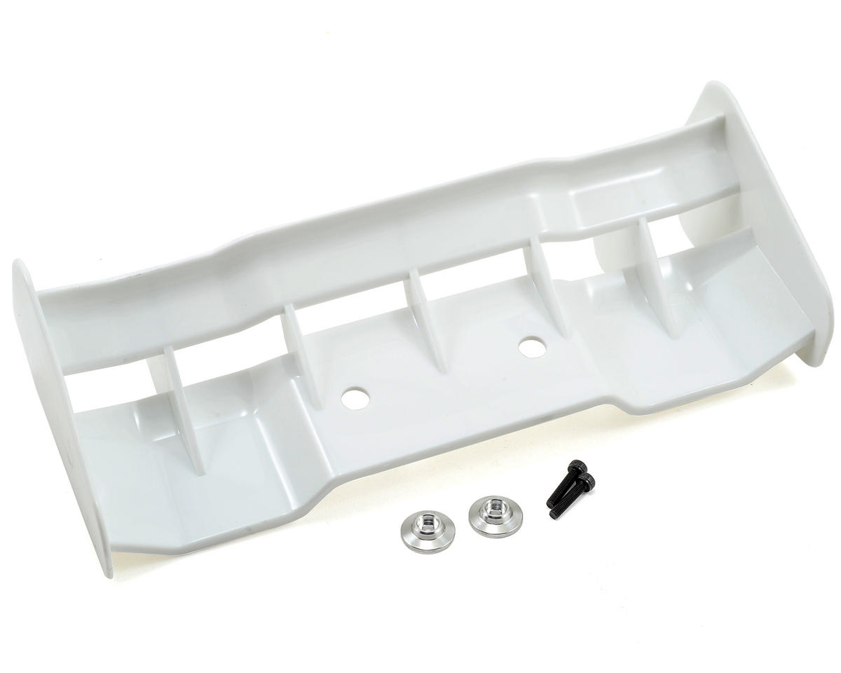 Hyper SS Rear Wing (White) by HoBao Cage Truggy