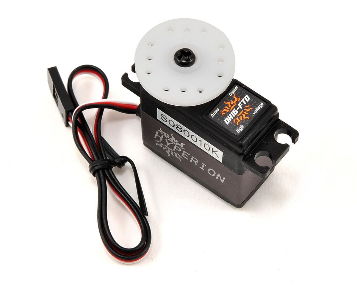 Atlas DH16-FTD Fully Programmable High Voltage Digital Servo