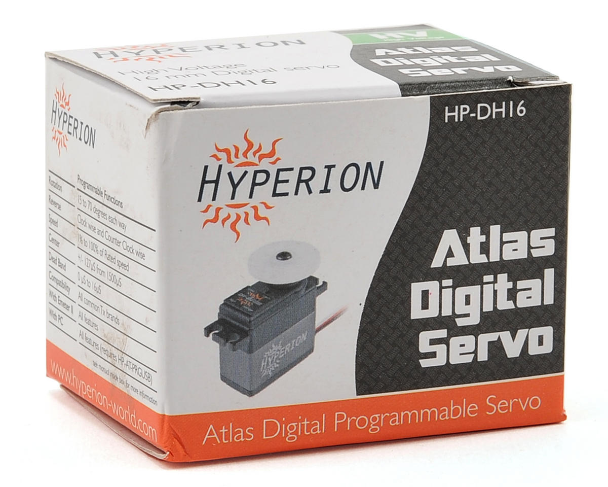 Hyperion Atlas DH16-SCD Fully Programmable High Voltage Digital Servo