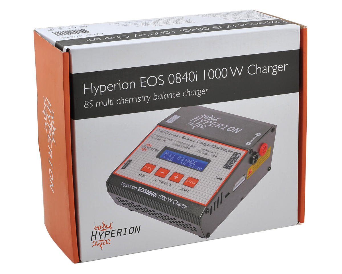 EOS 0840I Multi-Chemistry DC Battery Charger (8S/40A/1000W) by Hyperion