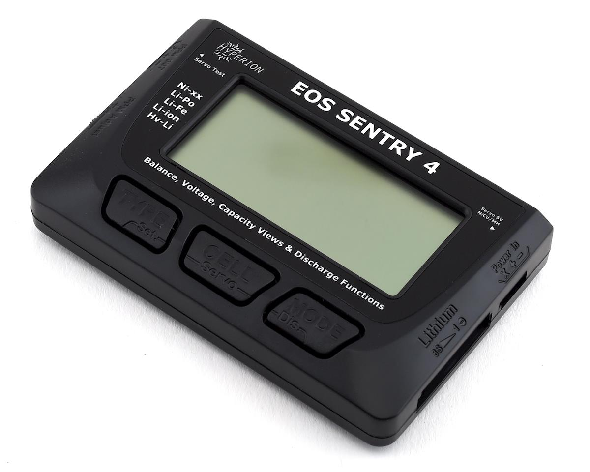 EOS SENTRY 4 2-8S Battery Checker & Balancer w/Store Mode Discharge
