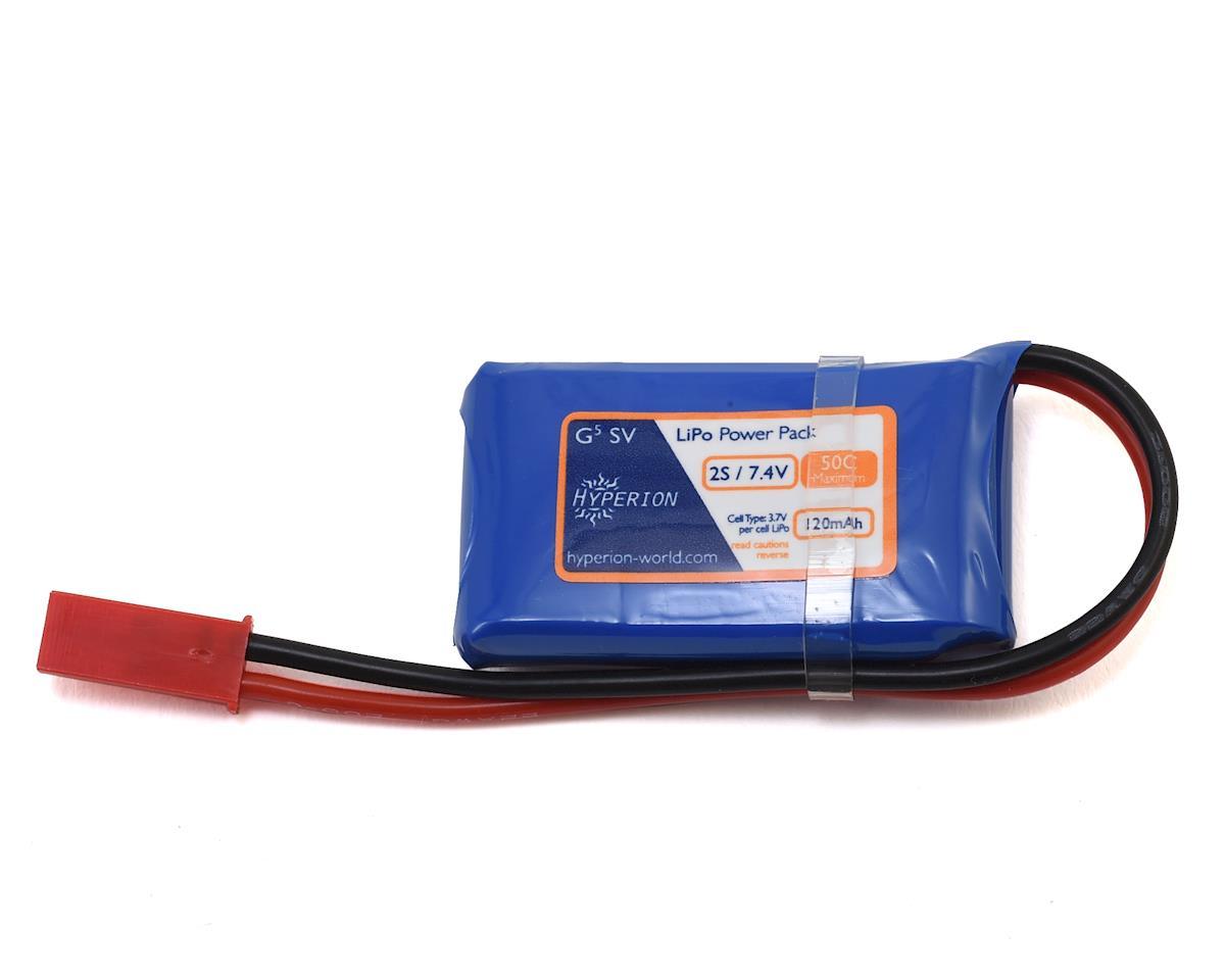 Hyperion G5 50C 2S LiPo Battery (7.4V/120mAh)