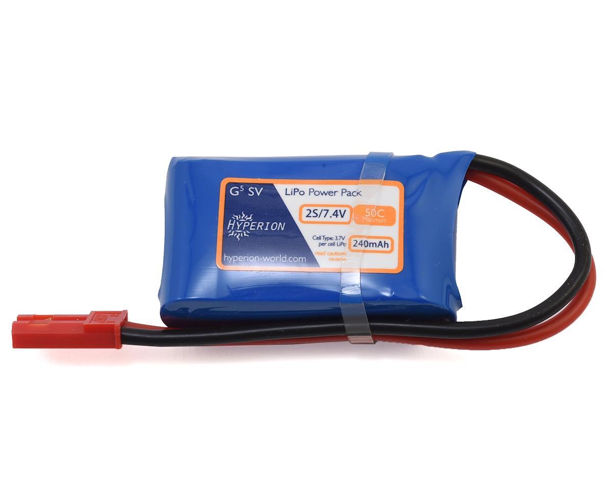 Hyperion G5 50C 2S LiPo Battery (7.4V/240mAh)
