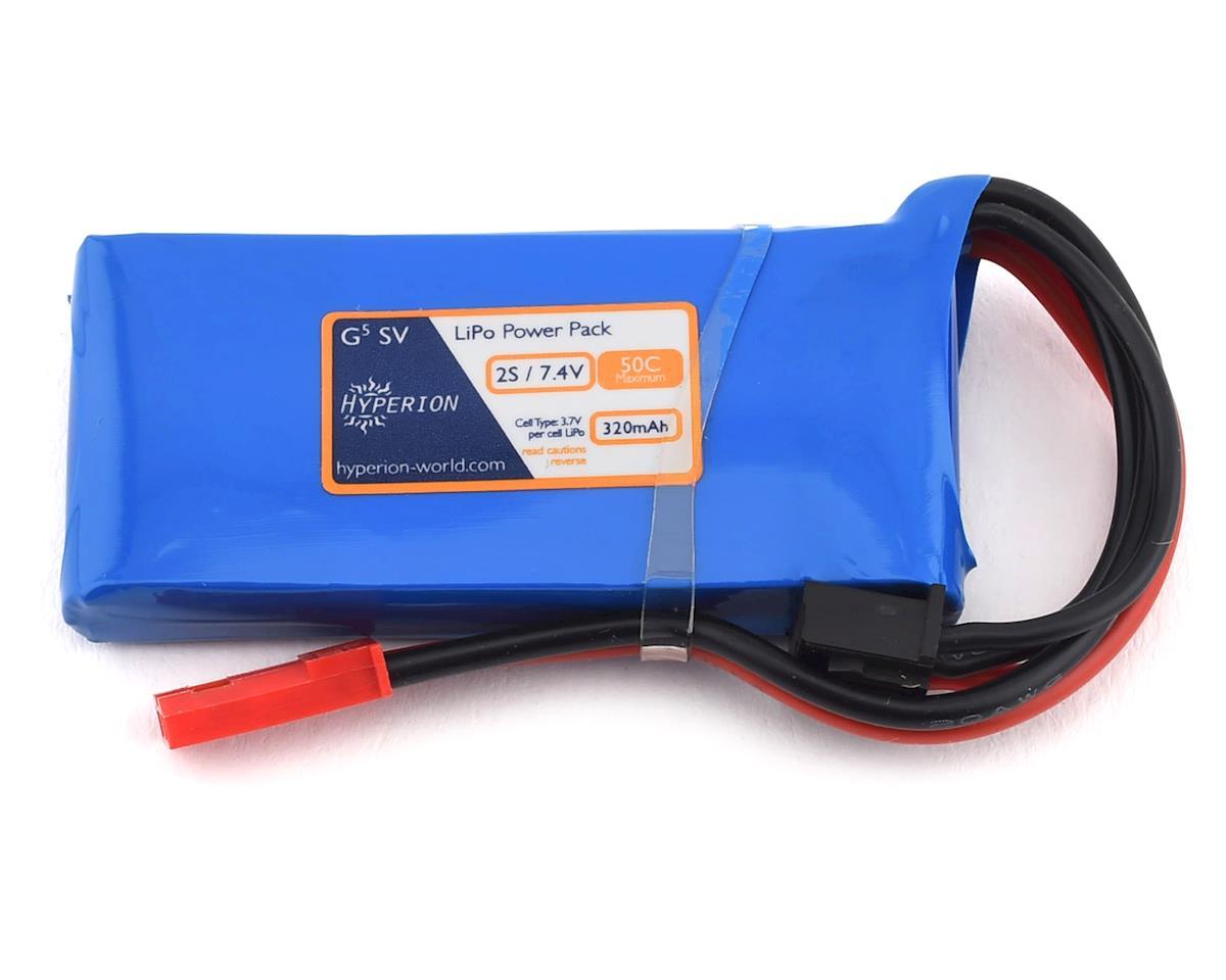 Hyperion G5 50C 2S LiPo Battery (7.4V/320mAh)