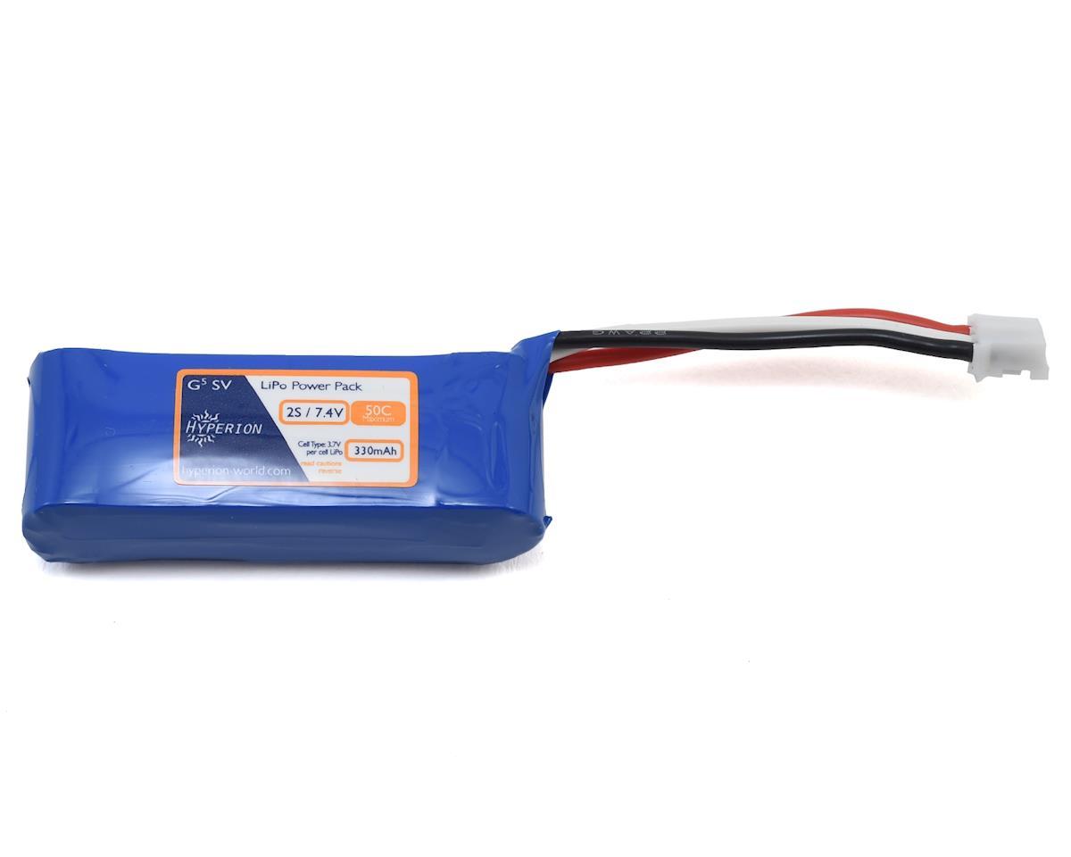 Hyperion G5 2S 50C LiPo Battery (7.4V/330mAh)