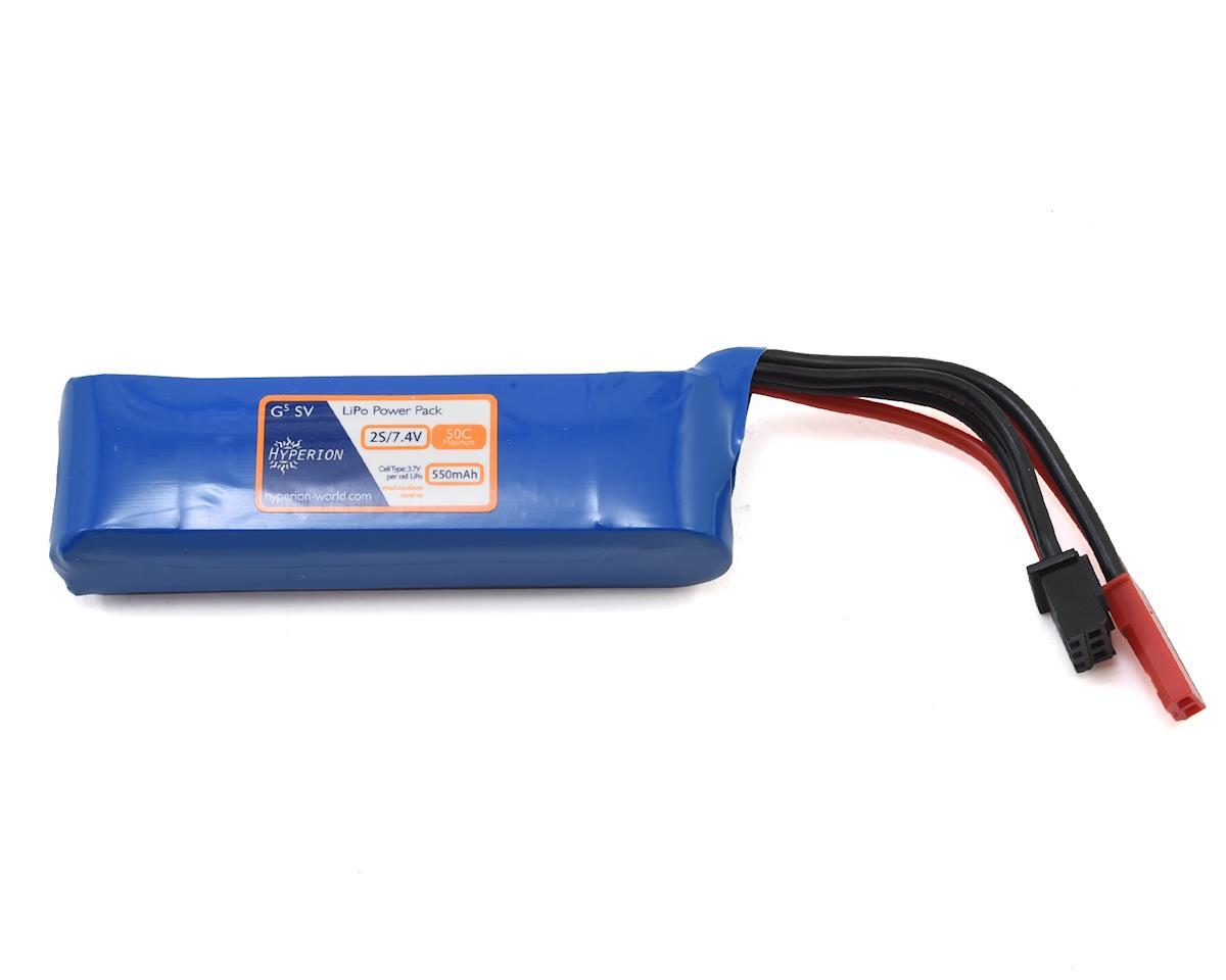 Hyperion G5 50C 2S LiPo Battery (7.4V/550mAh)