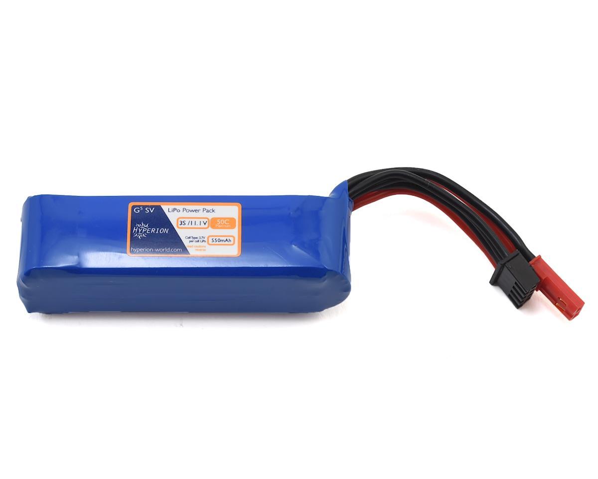 Hyperion G5 50C 3S LiPo Battery (11.1V/550mAh)