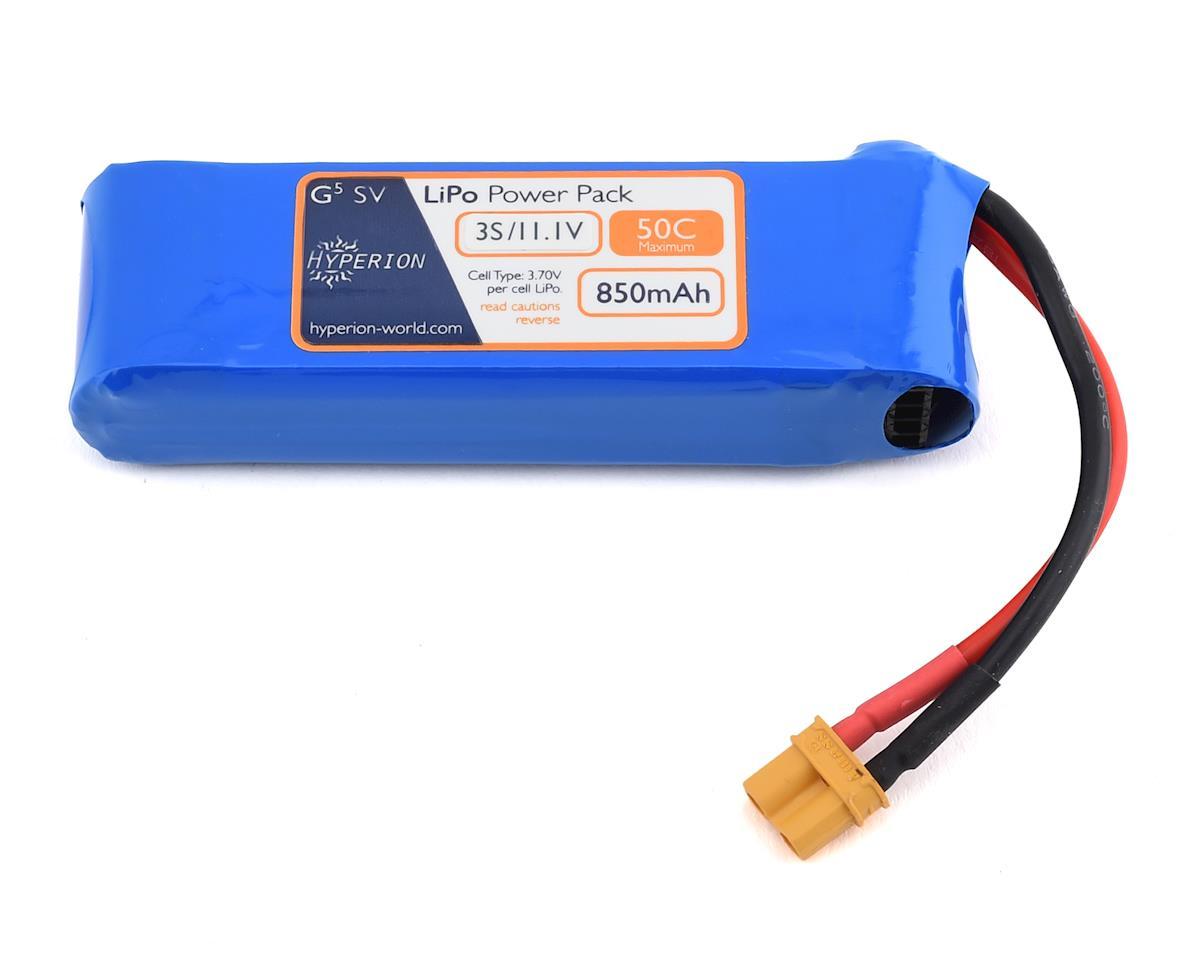 Hyperion G5 3S 50C LiPo Battery (11.1V/850mAh)