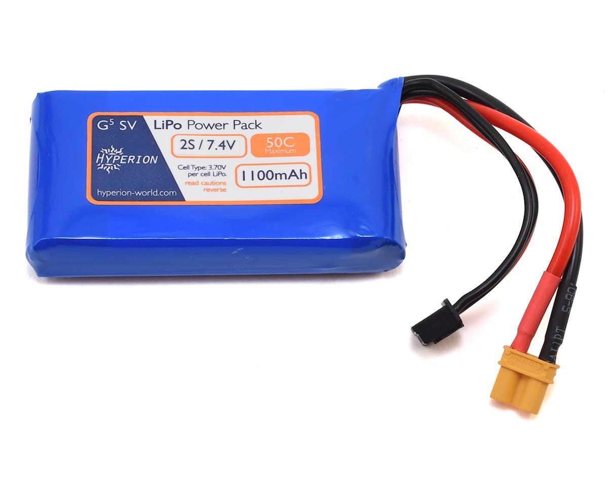 Hyperion G5 50C 2S LiPo Battery (7.4V/1100mAh)
