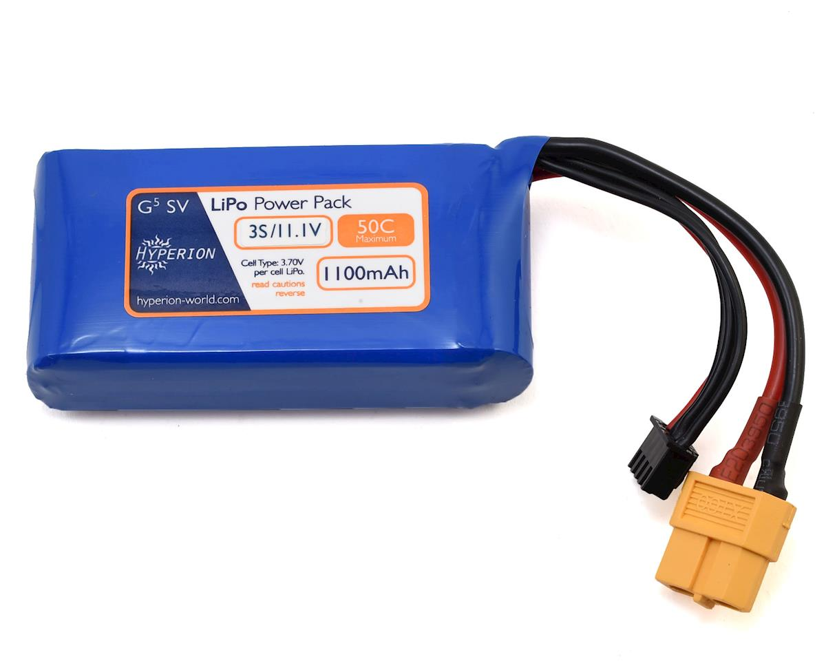 Hyperion G5 50C 3S LiPo Battery w/XT60 Connector (4.2V/1100mAh)