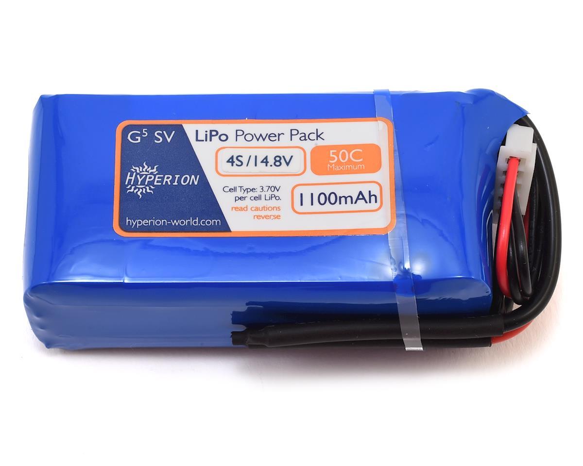 Hyperion G5 50C 4S LiPo Battery (14.8V/1100mAh)