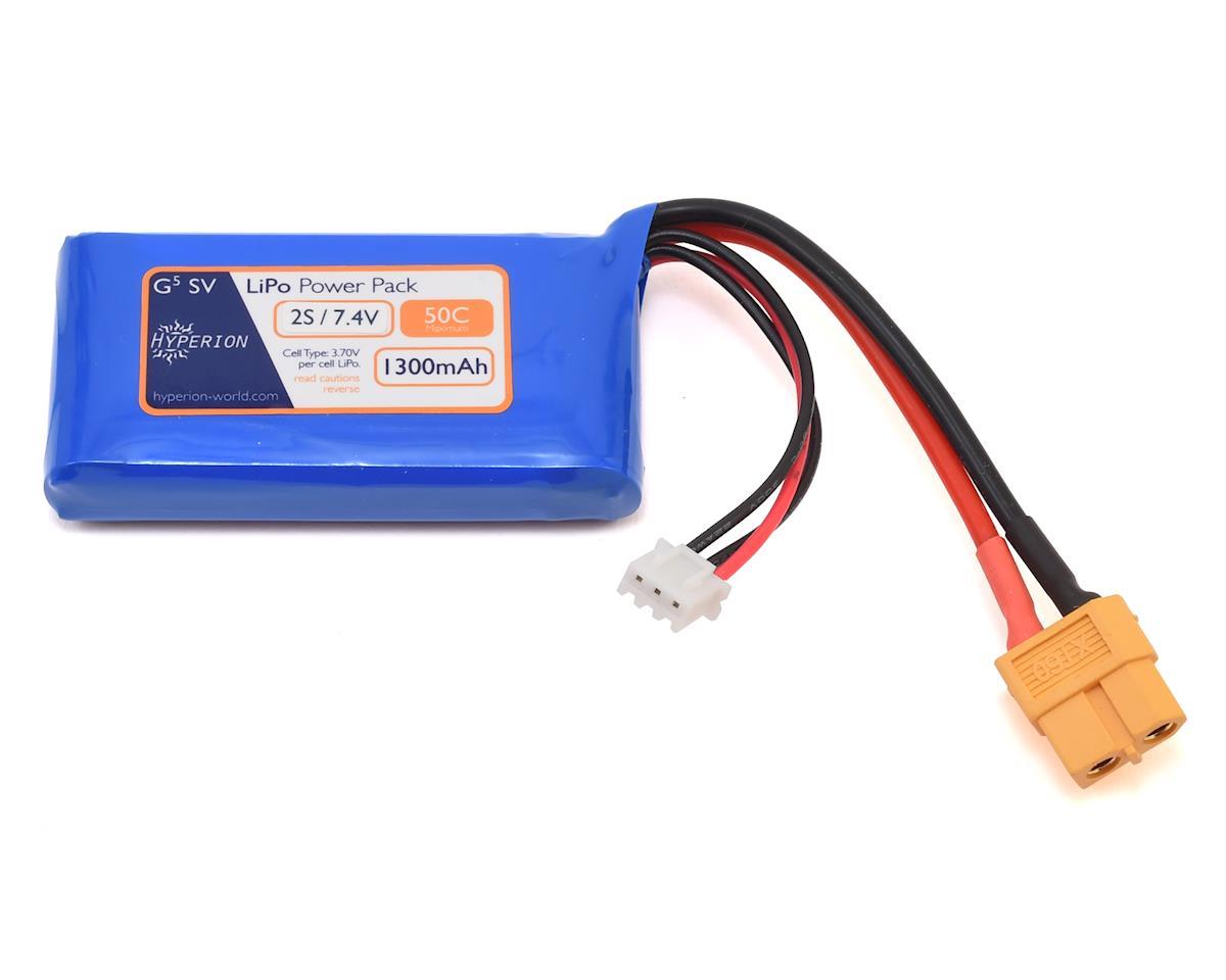 Hyperion G5 50C 2S LiPo Battery (7.4V/1300mAh)