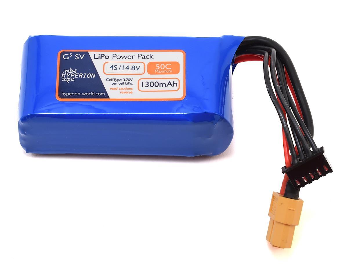 G5 50C 4S LiPo Battery (14.8V/1300mAh) by Hyperion