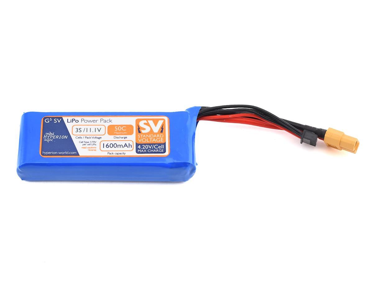 Hyperion G5 50C 3S LiPo Battery (11.1V/1600mAh)