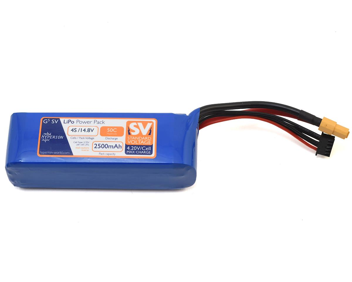 G5 4S 50C LiPo Battery (14.8V/2500mAh) by Hyperion