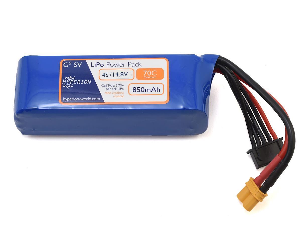 Hyperion G5 4S 70C LiPo Battery (14.8V/850mAh)