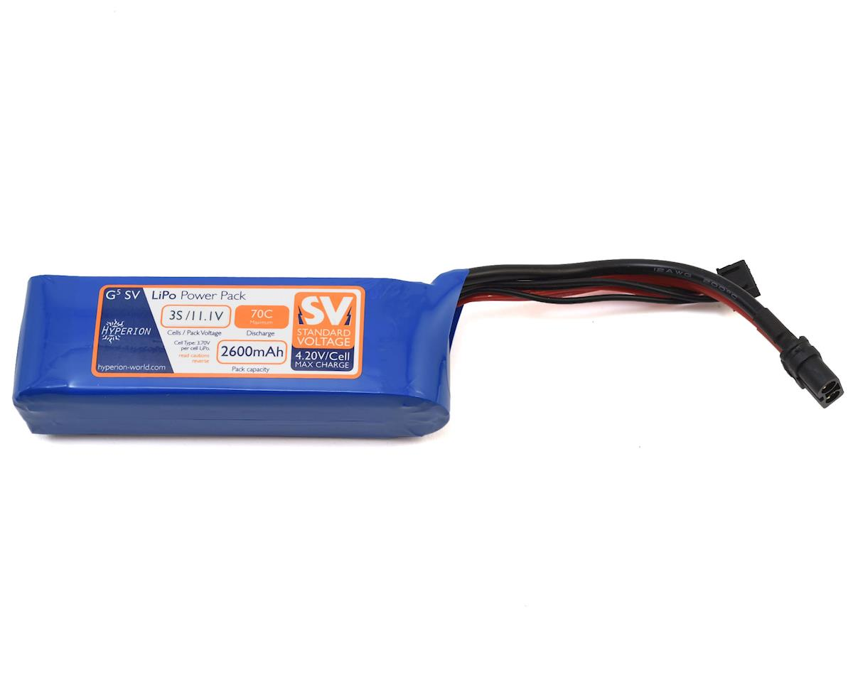 G5 3S 70C LiPo Battery (11.1V/2600mAh) by Hyperion