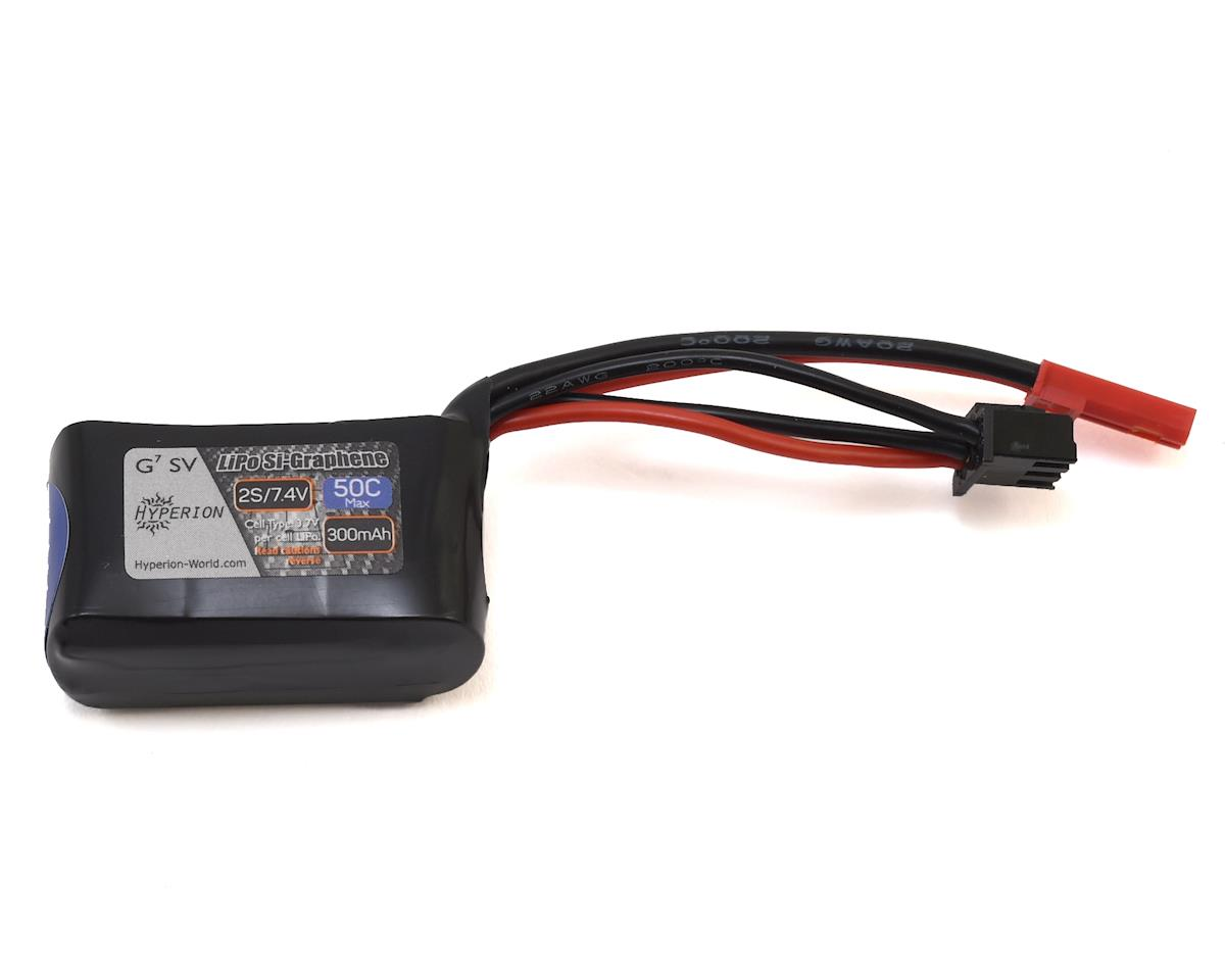 G7 2S Si-Graphene 50C LiPo Battery (7.4V/300mAh) by Hyperion