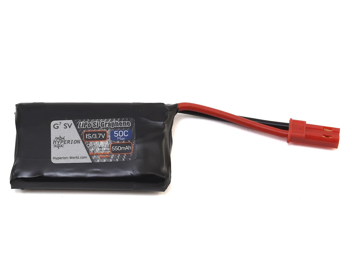 G7 1S Si-Graphene 50C Short Battery w/JST Connector (3.7V/550mAh) by Hyperion