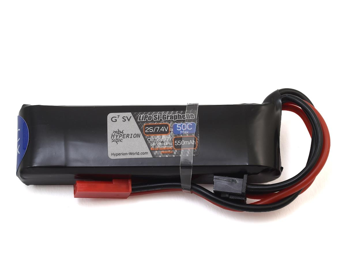 G7 2S Si-Graphene 50C LiPo Battery (7.4V/550mAh) by Hyperion