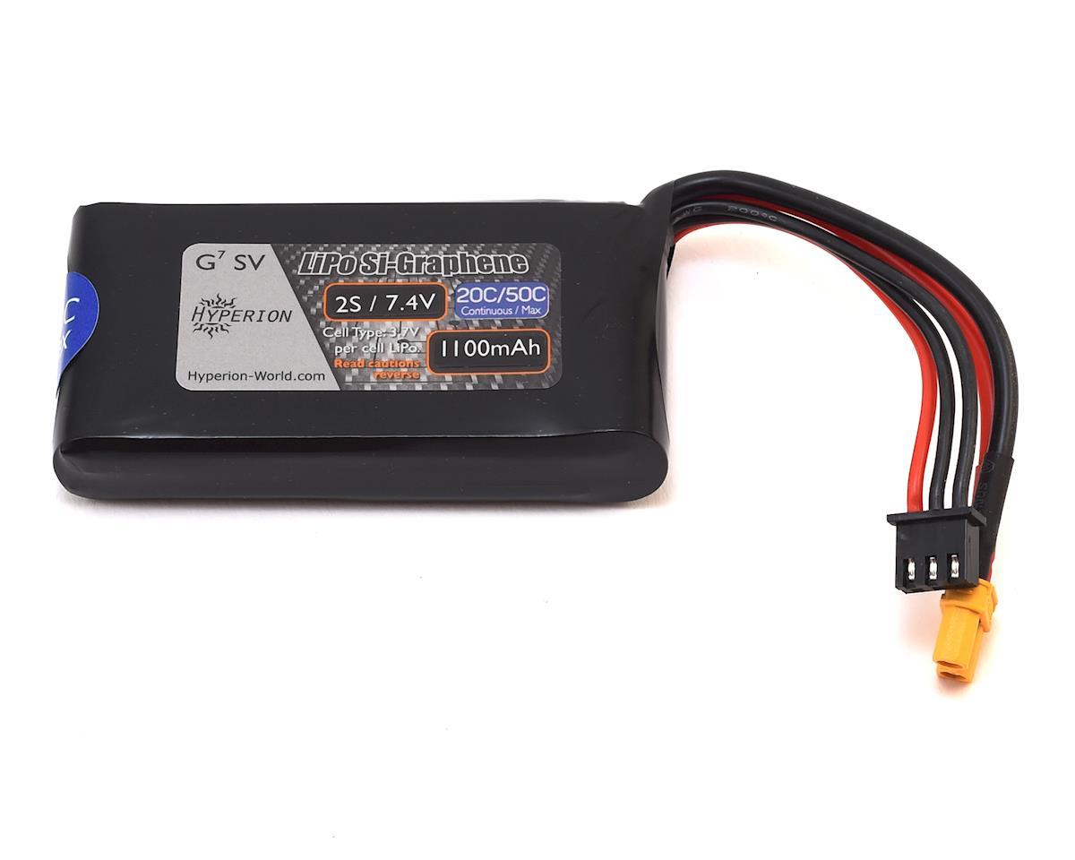 Hyperion G7 2S Si-Graphene 50C LiPo Battery (7.4V/1100mAh)