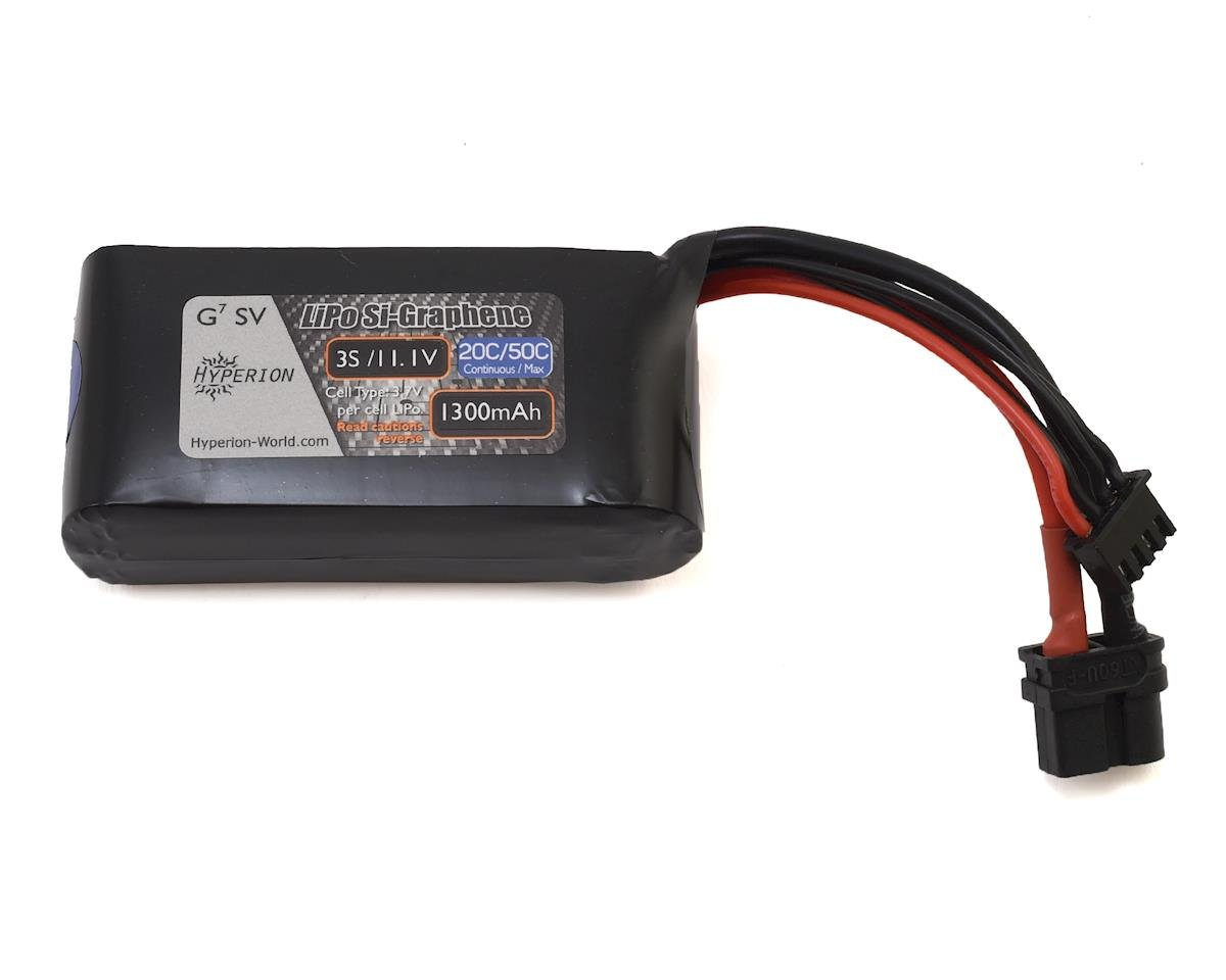 G7 3S Si-Graphene 50C LiPo Battery (11.1V/1300mAh)