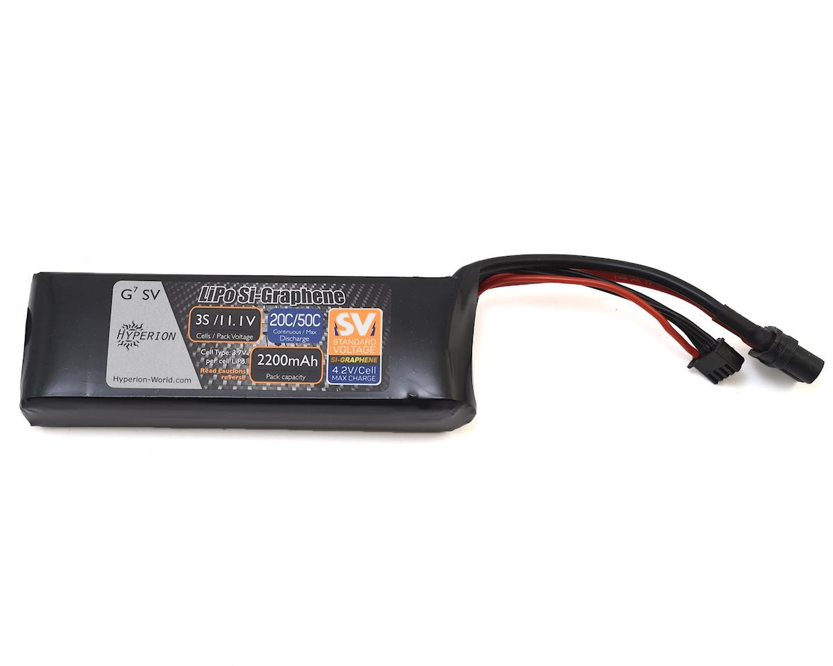 G7 3S Si-Graphene 50C LiPo Battery (11.1V/2200mAh) by Hyperion