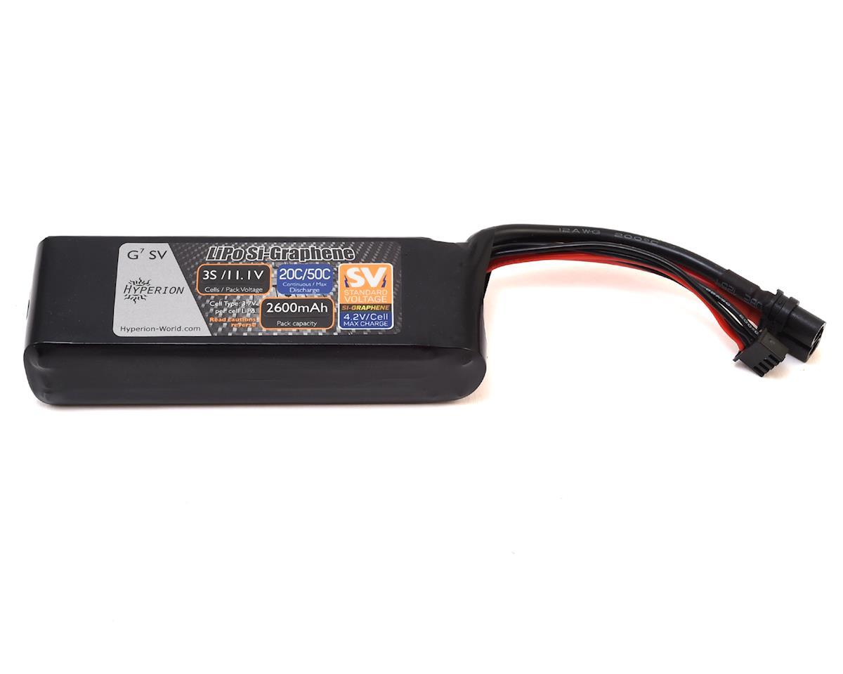 Hyperion G7 3S Si-Graphene 50C LiPo Battery (11.1V/2600mAh)