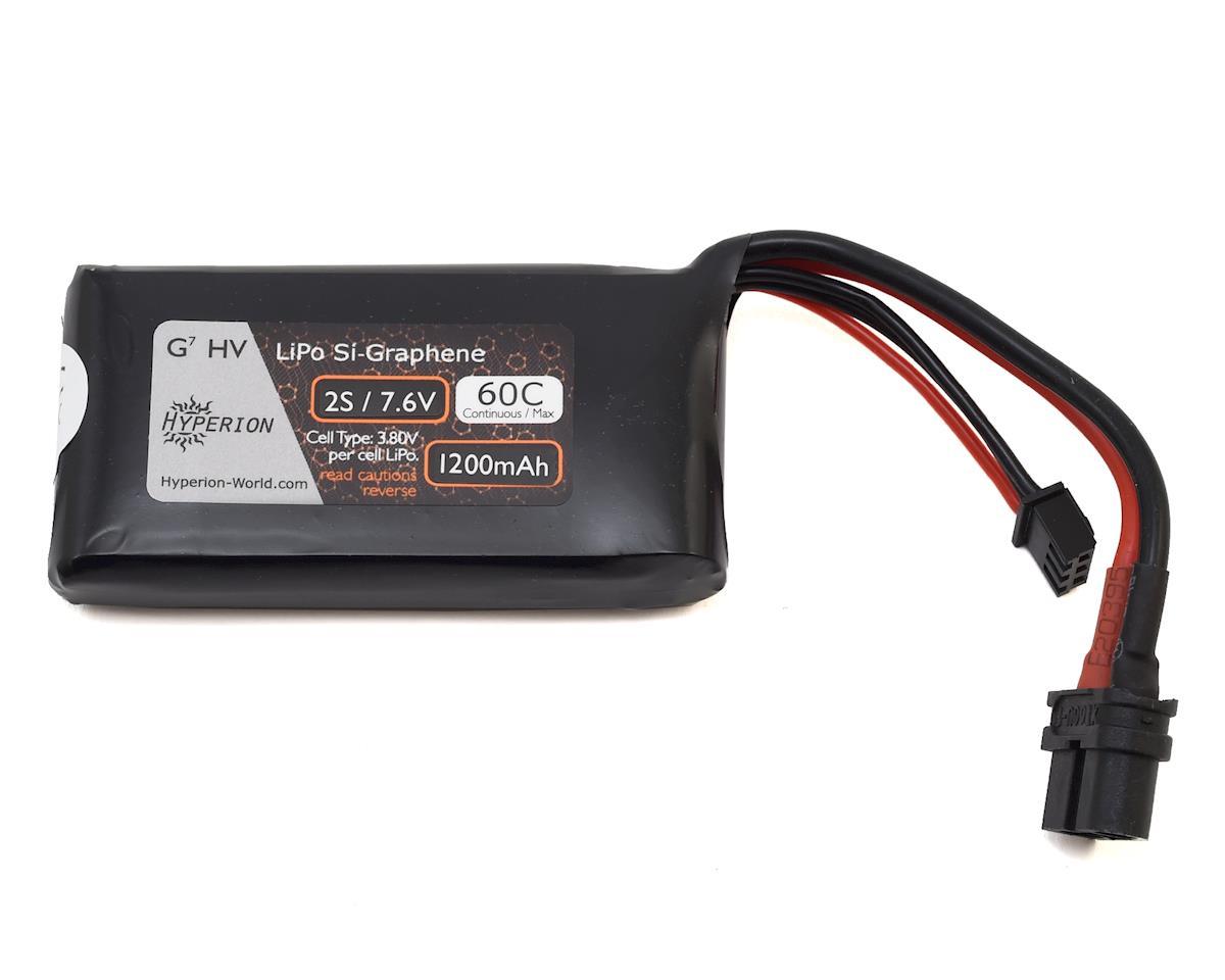 Hyperion G7 2S Si-Graphene LiHV 60C LiPo Battery (7.6V/1200mAh)