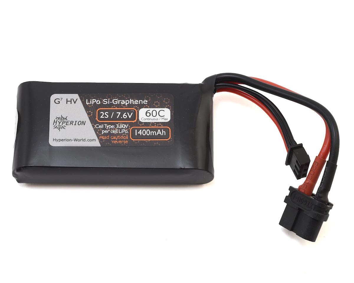 Hyperion G7 2S Si-Graphene LiHV 60C LiPo Battery (7.6V/1400mAh)