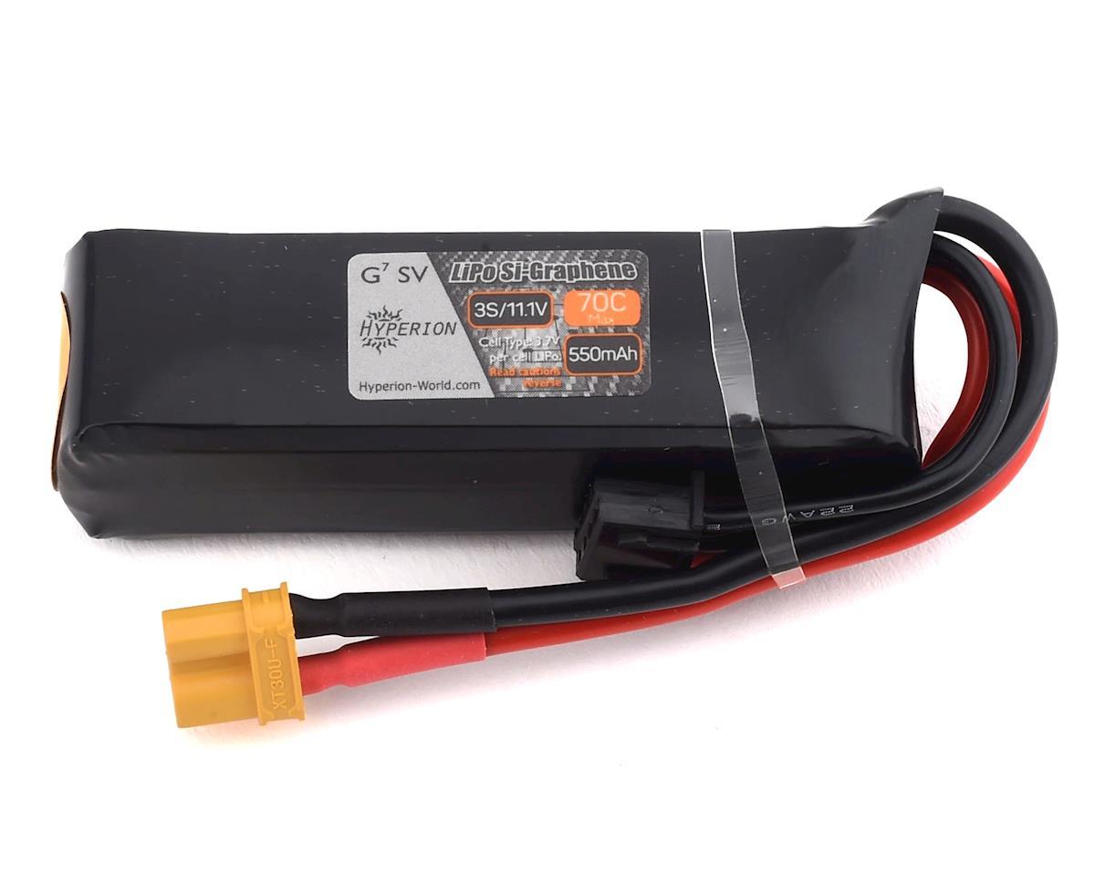 Hyperion G7 3S 70C Si-Graphene LiHV LiPo Battery (11.1V/550mAh)