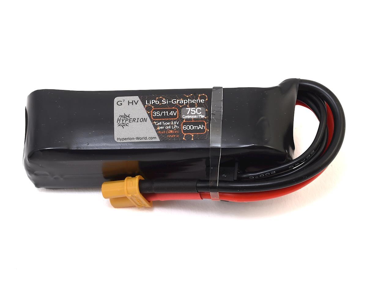 Hyperion G7 3S Si-Graphene LiHV 75C LiPo Battery w/XT30 (11.4V/600mAh)
