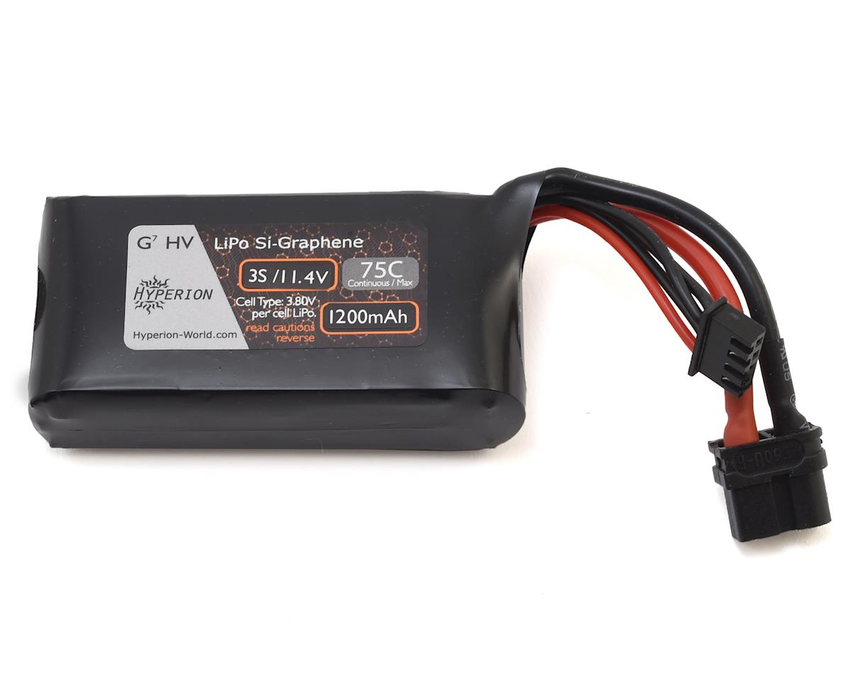 Hyperion G7 3S Si-Graphene LiHV 75C LiPo Battery (11.4V/1200mAh)