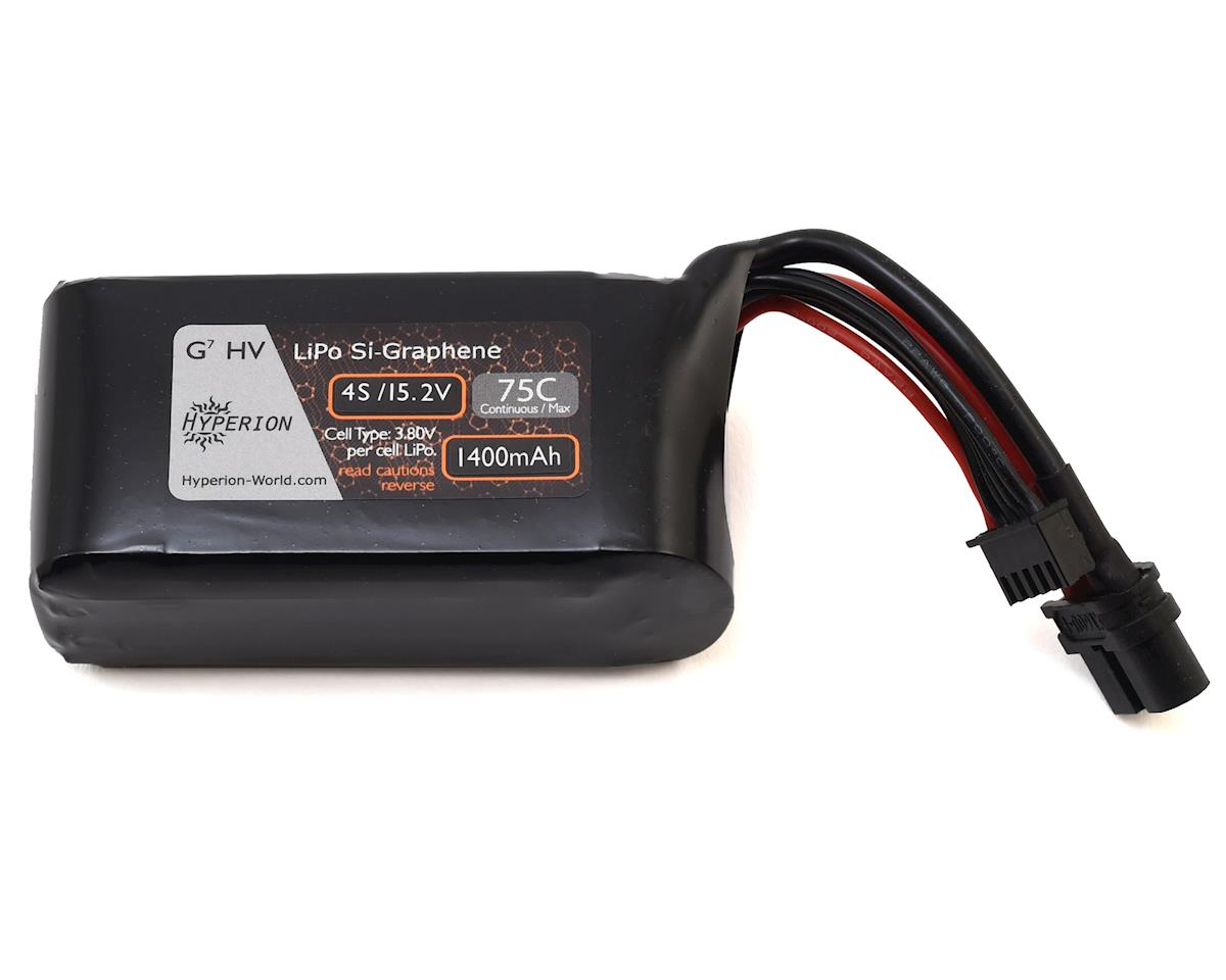 G7 4S Si-Graphene LiHV 75C LiPo Battery (15.2V/1400mAh) by Hyperion
