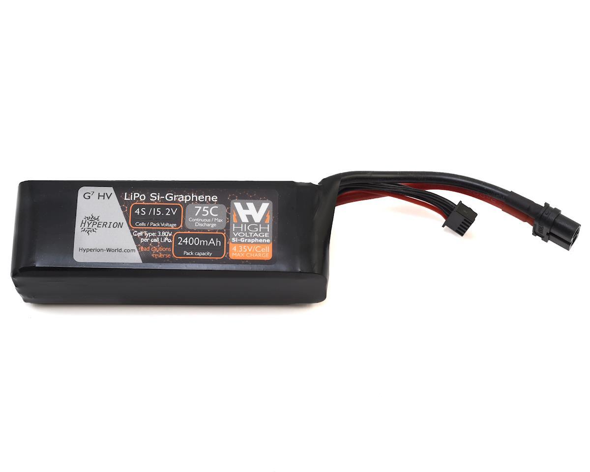 Hyperion G7 4S Si-Graphene LiHV 75C LiPo Battery (15.2V/2400mAh)