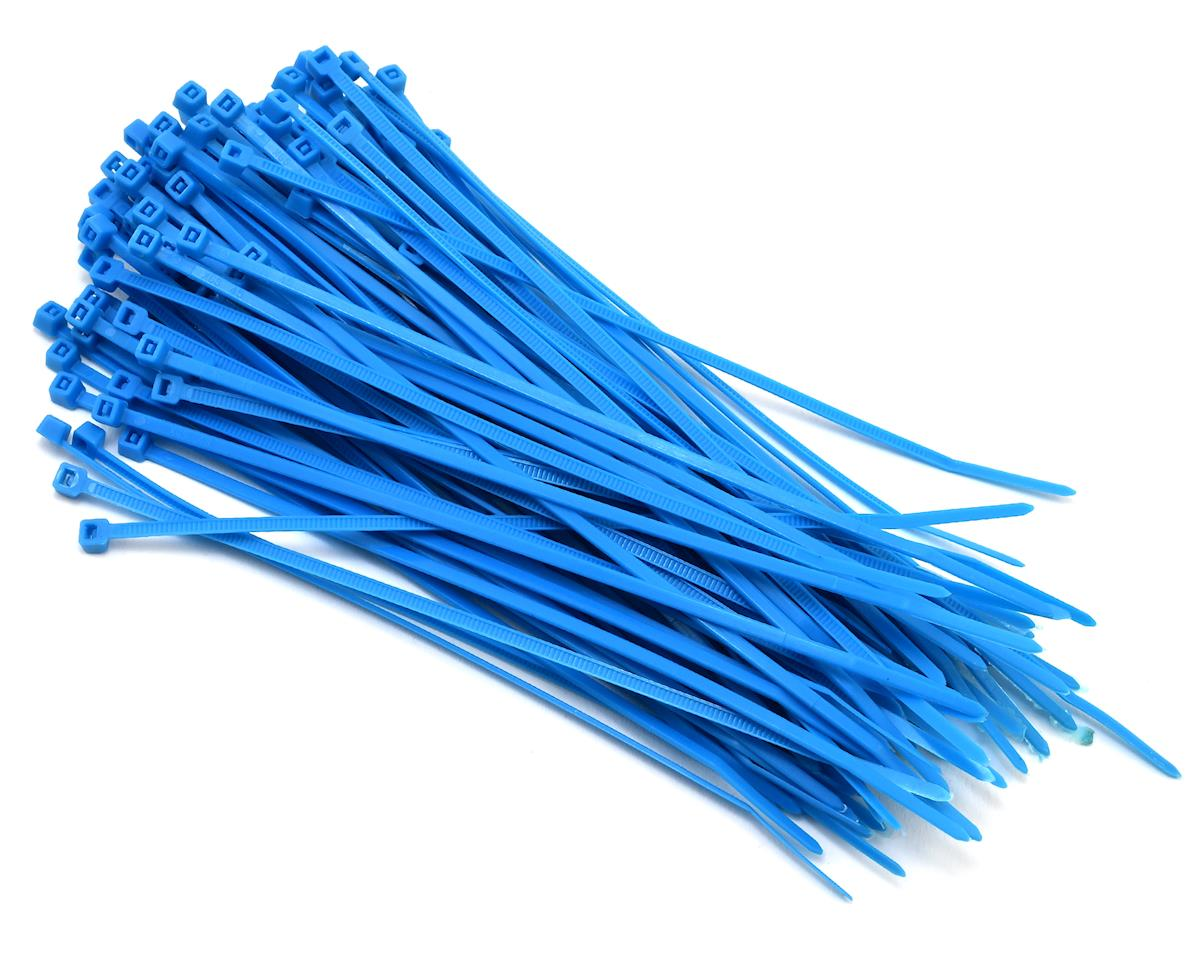 Nylon Cable Zip Tie 3x150mm (100) (Blue) by Hyperion