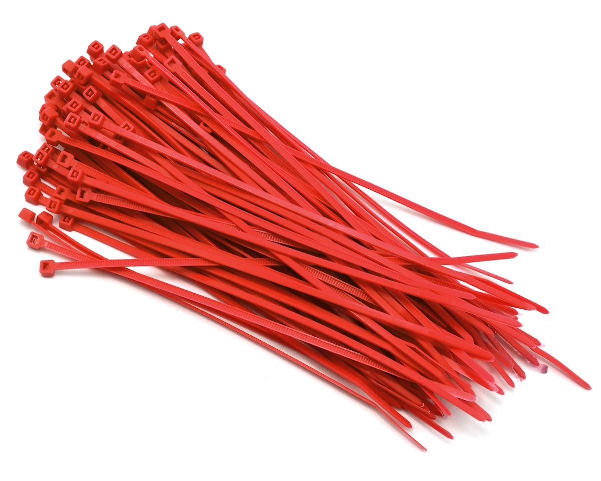 Nylon Cable Zip Tie 3x150mm 100pcs (Red) by Hyperion