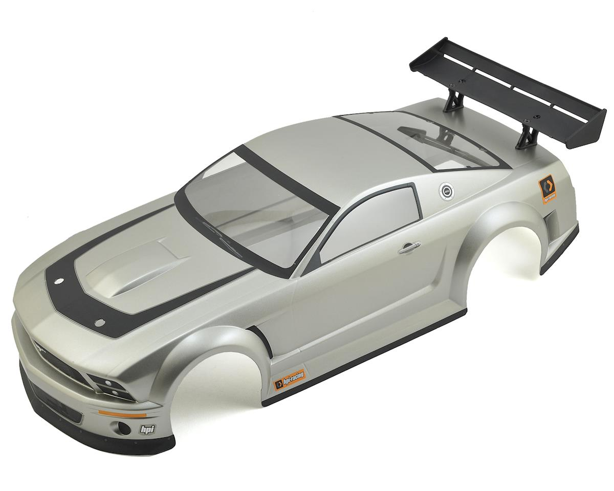 Ford Mustang GT-R Pre-Painted 1/10 Car Body (200mm) (Gunmetal) by HPI 1/10th Hoonicorn