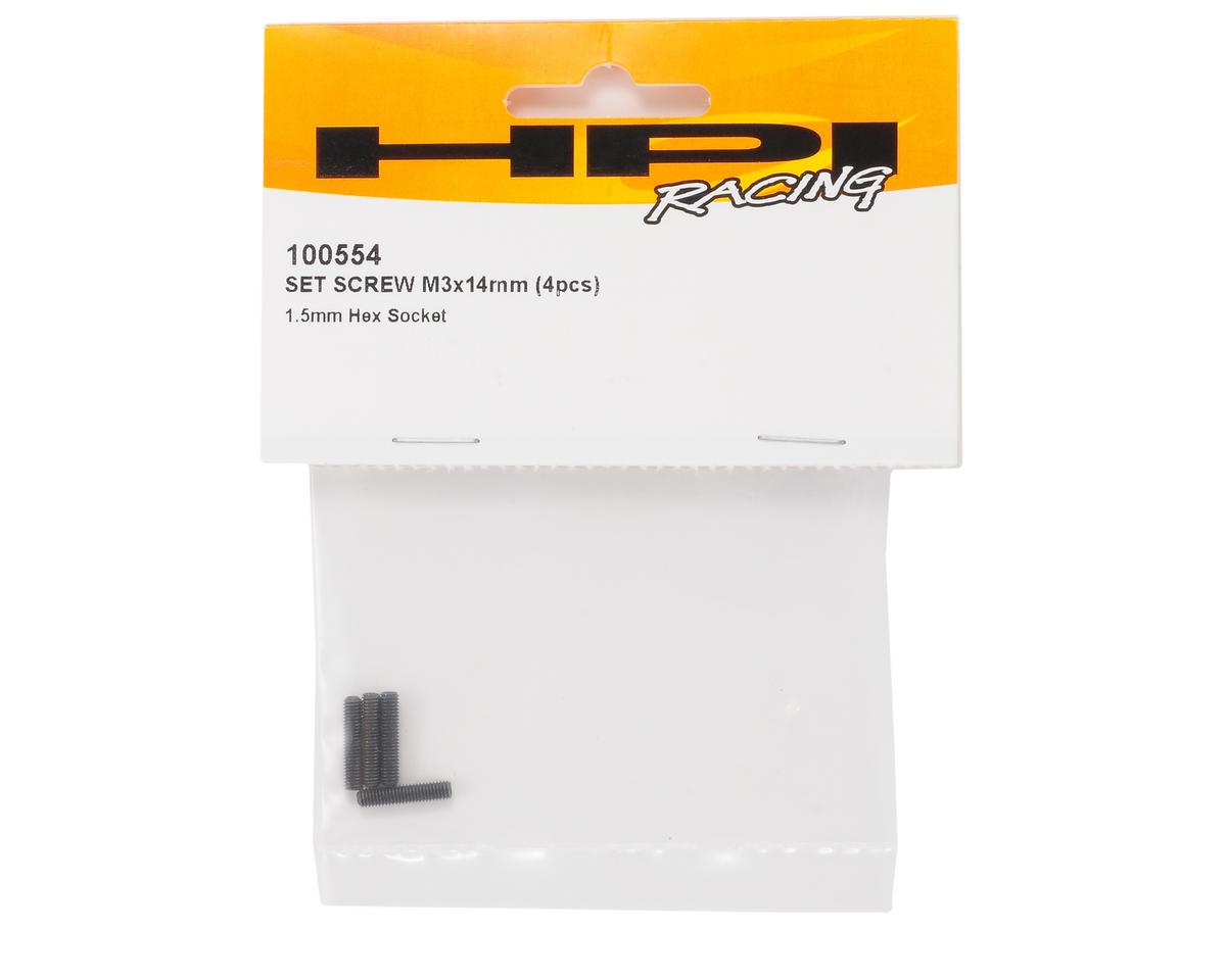 HPI Racing 3x14mm Set Screw (4)