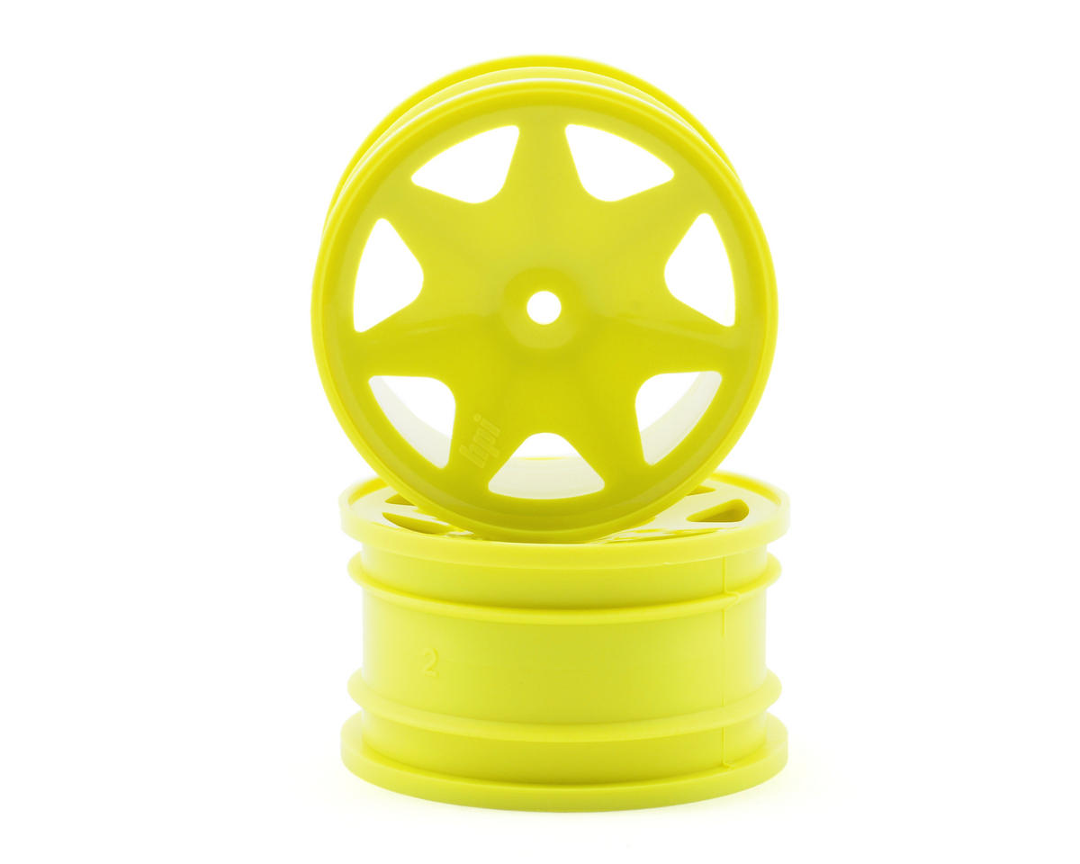 HPI Racing 35mm Ultra 7 Rear Wheels (2) (Yellow)